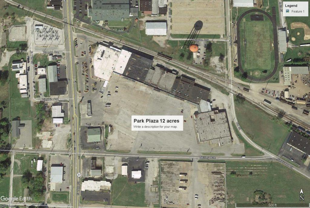 Acquisition of Park Plaza Mall
