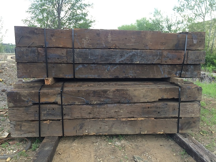 Case Study: Recycled Railroad Ties